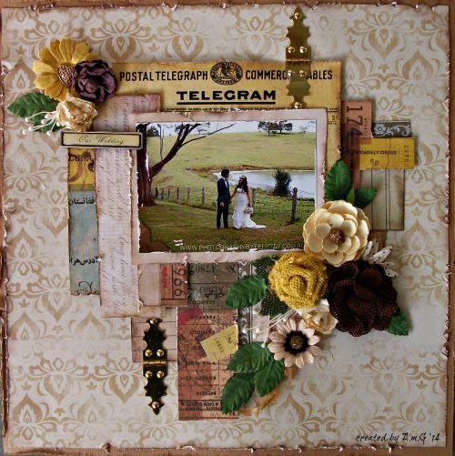 OUR WEDDING - Scrapbook.com