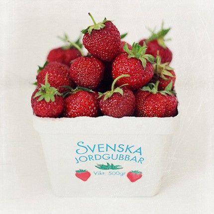 Svenska jordgubbar!