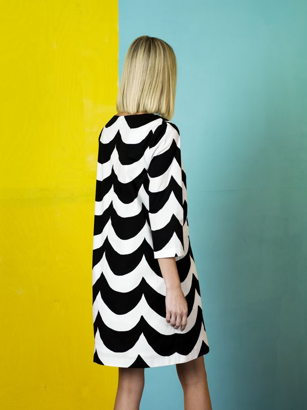 simple. graphic. black and white. love. marimekko.