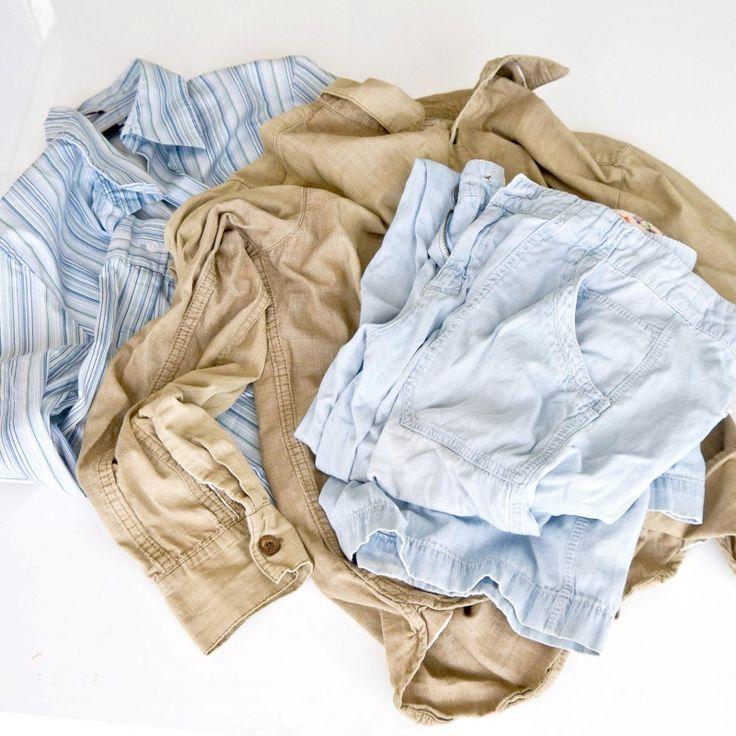 Astuce incroyable pour défroisser les vêtements avec le sèche-linge