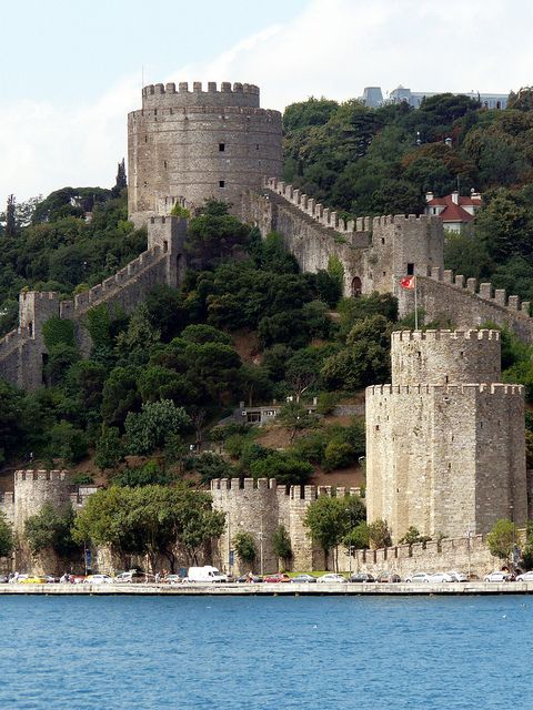 Fortress of Europe, Bosphorus Cruise, Istanbul Turkey