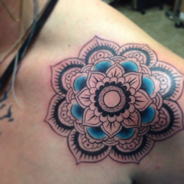 20 Mendala Lotus Tattoos Shoulder Ideas And Designs