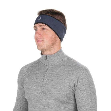 Outdoor Designs Chillilugs Polartec® Headband (For Men and Women) in Navy
