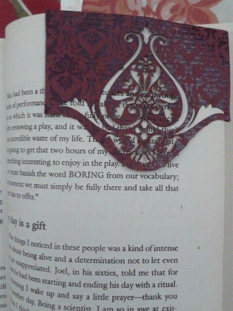 My handmade new bookmark !
