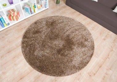 """Shaggy Teppiche der Kollektion """"Loredo"""" sind nicht nur robust, pflegeleicht und unkompliziert zu reinigen, die Langflor Teppiche besitzen ebenfalls ein exklusives Erscheinungsbild aufgrund des dichten und fein gezwirbelten Flors. Im Teppich Onlineshop von Havatex bieten wir Ihnen den Hochflor Teppich """"Loredo"""" in sechs unterschiedlichen Farben an, außerdem ist der Shaggy Teppich als Langflor Teppich rund oder eckig versandkostenfrei in sämtlichen Größen bestellbar."""