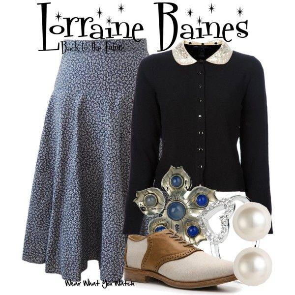 A fashion look from January 2013 featuring MARC BY MARC JACOBS cardigans, Vintage Shoe Company oxfords and Sharon Mills brooches. Browse and shop related looks.