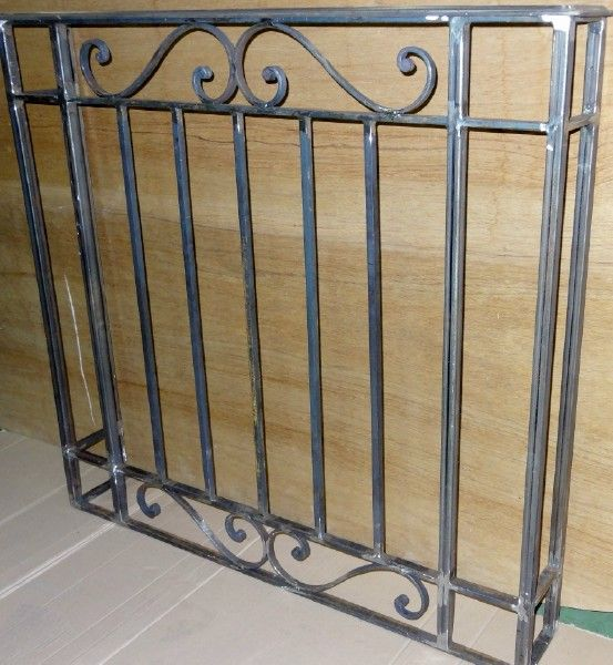 38 best decorative security grills images on pinterest for Fer forge balcon