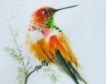 Articoli simili a Uccello del pappagallo Ara, pittura, arte dell'uccello di stampa, dimensione di acquerello, arte stampa 8 X 10 pollici per l'arredamento della camera e regalo speciale No. 187 dell'acquerello di uccello su Etsy