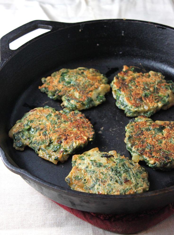 Torticas de espinacas http://cocinayvino.net/receta/desayunos-y-meriendas/5711-torticas-de-espinacas.html