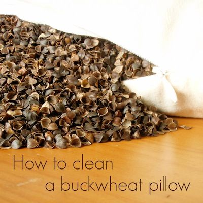 how to clean a buckwheat pillow comfycomfy