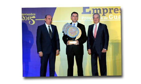 El operador logístico Logiters ha sido reconocido por la CEOE-CEPYME de Guadalajara como la Empresa del Año 2015