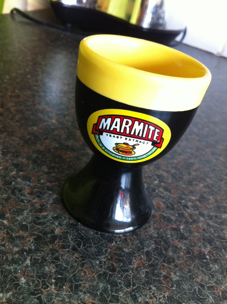 And my marmite egg cup :)