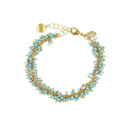 Athena Designs Gemstone Cluster Bracelet