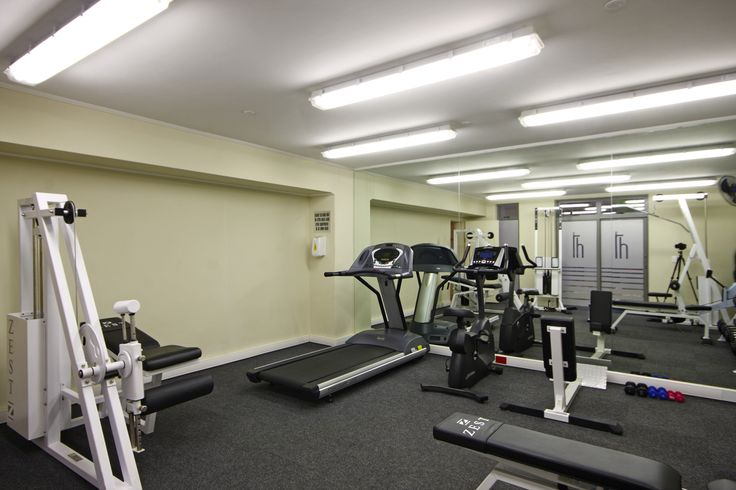 The Hyde Hotel gym