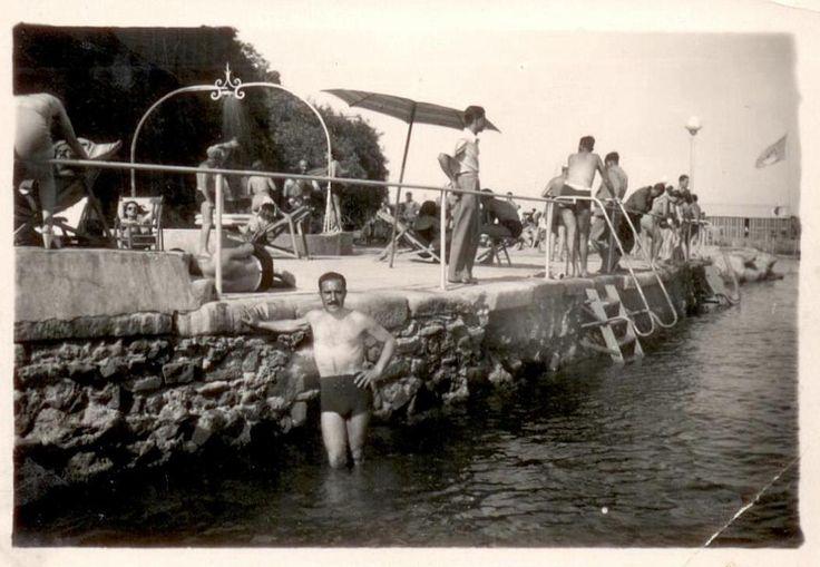 stabilimento balneare mare Italia  anni 30/40