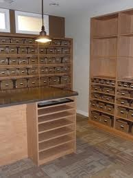 Shelving for a business - beautiful and functional!  www.tailoredlving.com
