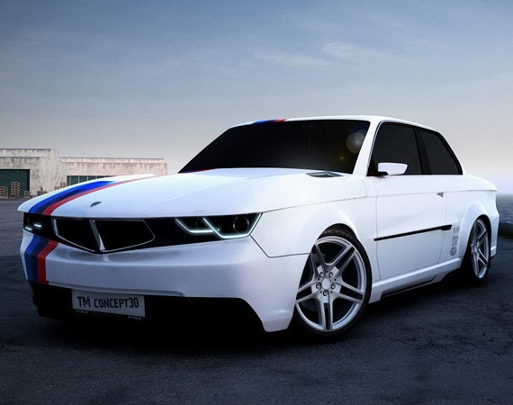 BMW 3-Series Coupe – TM concept30 Retro Styling Body Kits | By TMCars