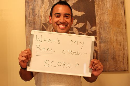 how to find your real credit score