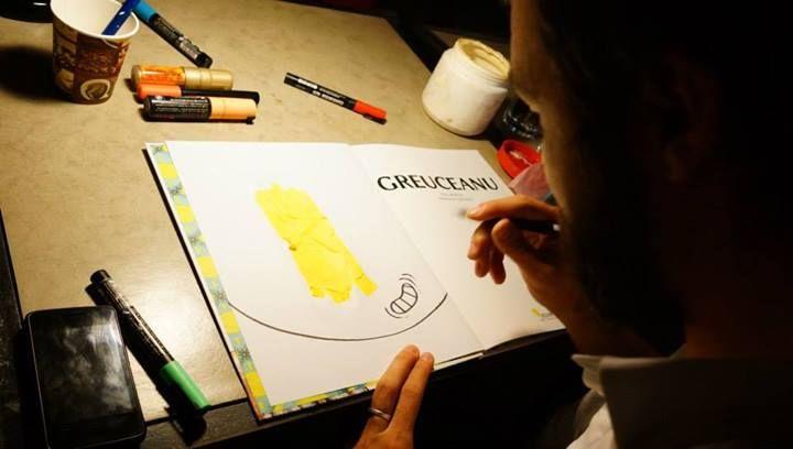 """De vorbă cu ilustratorul Alexandru Ciubotariu despre cum și l-a imaginat el pe Greuceanu: """"Voiam să găsesc o formulă vizuală deosebită"""""""