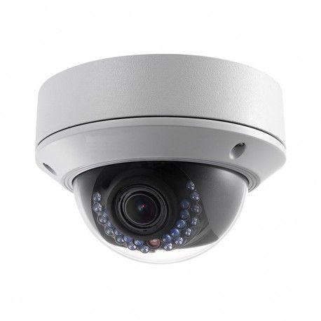 """Антивандальная вариофокальная купольная IP камера для системы видеонаблюдения. Матрица: 1/3"""" PS CMOS. Разрешение: 1920x1080 пикс. (2 Мп/Full HD). Скорость потока: 25 к/с. Фокус: 2,8-12 мм (угол обзора - 91,2°~28,3°). Дальность ИК подсветки: до 30 метров. Поддержка PoE (IEEE 802.3af). Тревожный вх./вых.: 1/1 шт. Индекс защиты: IP66, IK10. Протокол: ONVIF, PSIA, CGI. Место под microSD: до 64 Гб."""