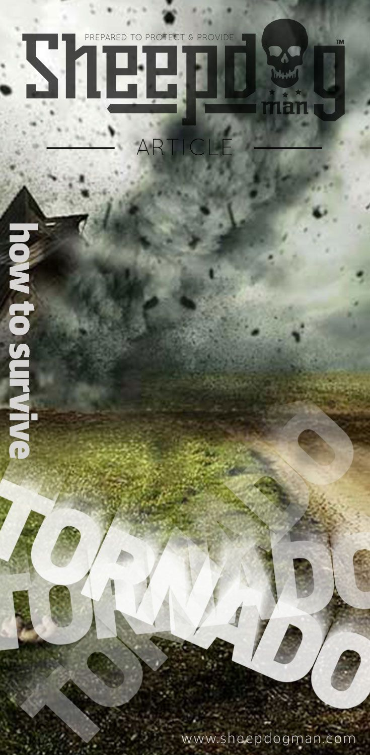 4 Warning Signs of a Tornado and How to Prepare via @sheepdogman
