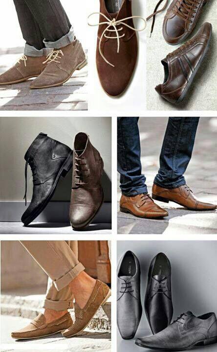 Zapatitos para los Consen, varios modelos, texturas y colores. Y para los guapos....Especial para ellos Moda y tendencias #Hombres #estilosymas