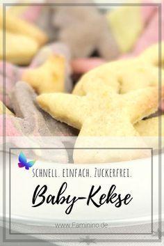 Baby Shortbread Kekse ohne Zucker   – Rezepte: Kekse, Plätzchen, Cookies & Pralinen
