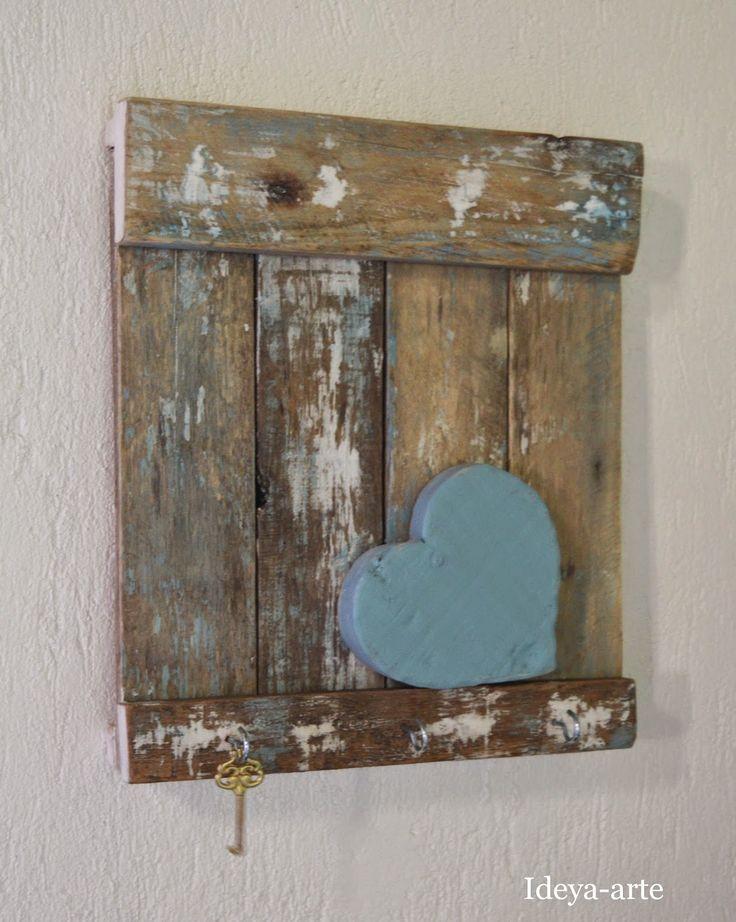 Artesanato Ideias Para Pascoa ~ quadros feitos com madeira de demoliç u00e3o Pesquisa Google madeira demoliç u00e3o Pinterest