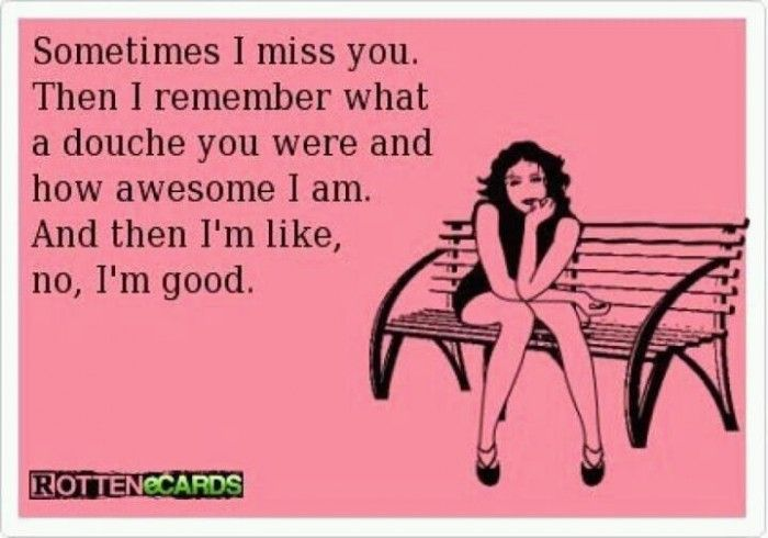 funny ecards about ex boyfriends   miss you ecard 700x490 You Have To Kiss Some Frogs To Find Your Prince