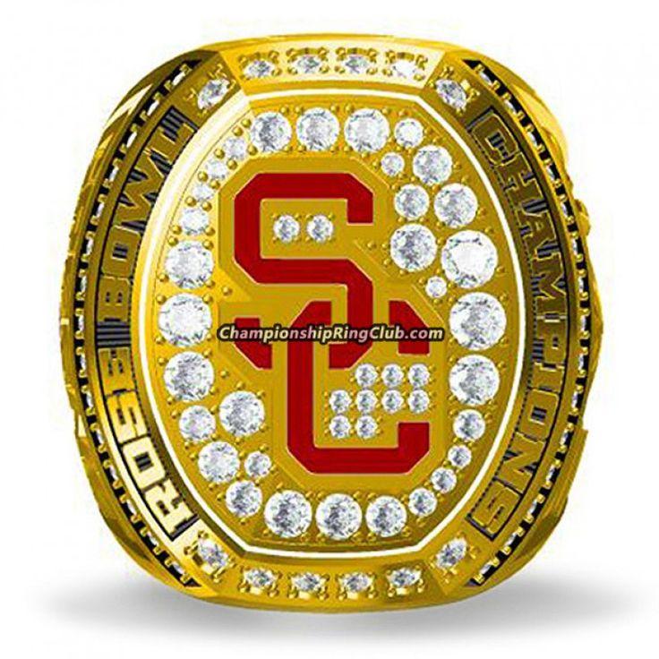 2017 USC Trojans NCAA Rose Bowl Championship Ring - ChampionshipRingClub.com
