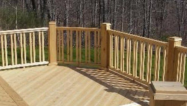123 Deck Railing Ideas Deck Railing Design Wood Deck Railing Railing Design