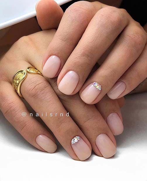 43 Simple Yet Eye Catching Nail Designs Nails Short Nail