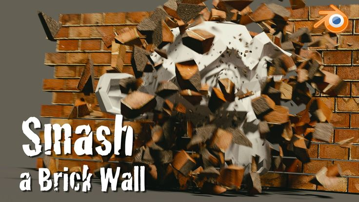 Destroy a brick wall with Rigid Bodies Physics in Blender! Use the Cell Fracture add-on along with simulations to create a realistic animated wall smash with...