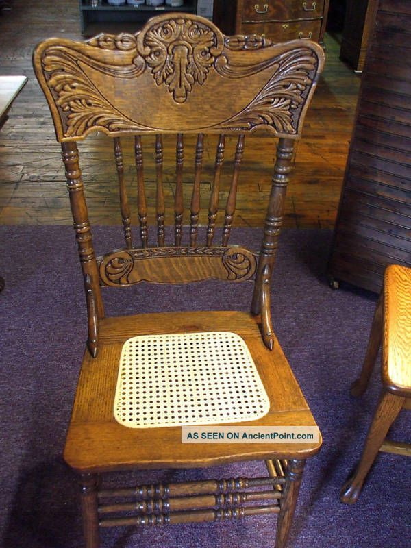 An Amish Chair With A Lot Of Charm, The Solid Wood Wheat Pressback Chair Has