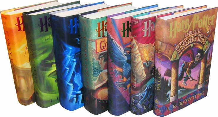 Harry Potter series- JK Rowling