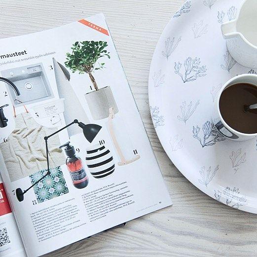 Time for a cup of coffee ☕️ By Rydens Bazar in @avotakka  #sessak #sessaklighting #byrydens #bazar #avotakka #interiormagazine #nordicinterior #interiorinspiration #scandinaviandesign #scandinavianstyle #valaisin #sisustus #sisustusinspiraatio #interior123 #interiorstyling #interiorstyle #interiordecor #interiorinspo #lighting #lightingdesign