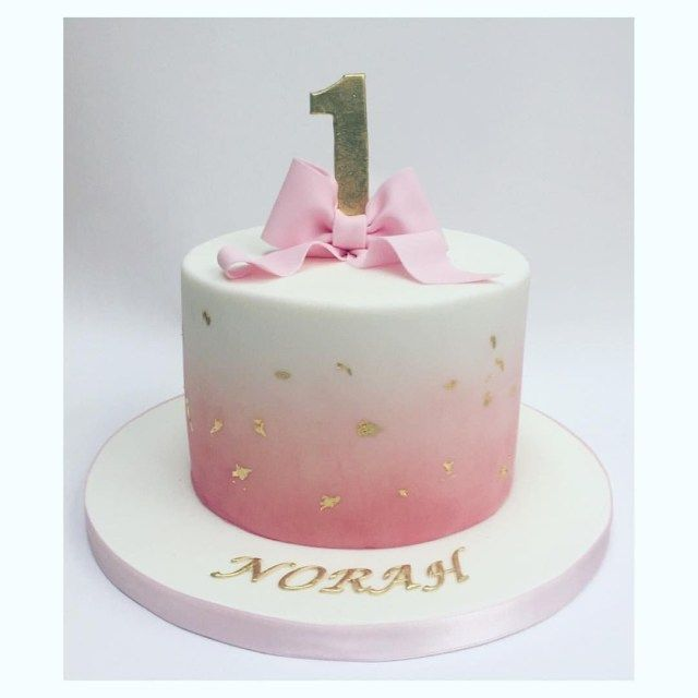 32 Pretty Image Of Cute Birthday Cakes For Girl With Images