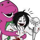 Mira mi perfil en Wattpad, soy Barnie El Dinosaurio Gigante ♫Barnie es un dinosaurio que vive bajo un puente vende autos en partes y le roba a la gente   Barnie es un pedofilo y un asesino en serie te matará, violará  y a tu familia también ♫('・ω・')