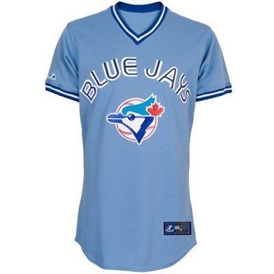 Majestic Toronto Blue Jays Light Blue Baseball Jersey