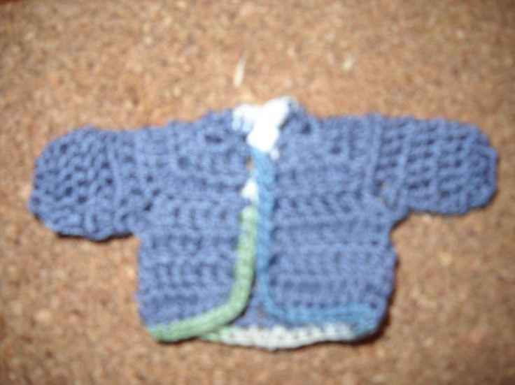 Crocheting: Crochet Baby Shower Favors