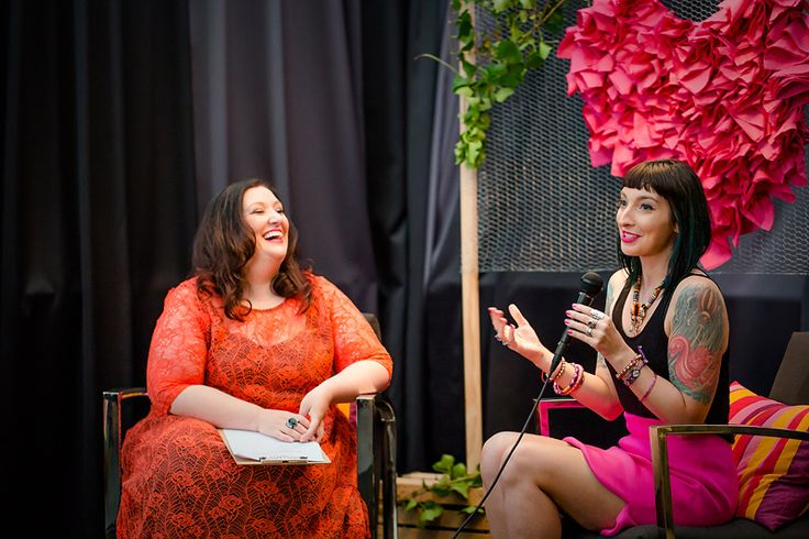 Gala Darling and Julie Parker  Photo by Fi Mims Photography — at The Cullen.