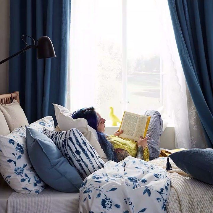 Pin By Ashok Rao On Woman Reading Hotel Style Home Ikea Home