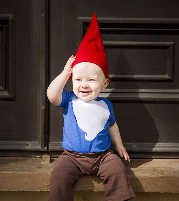 READY TO SHIP Gnome Halloween Costume Kids by TheWishingElephant