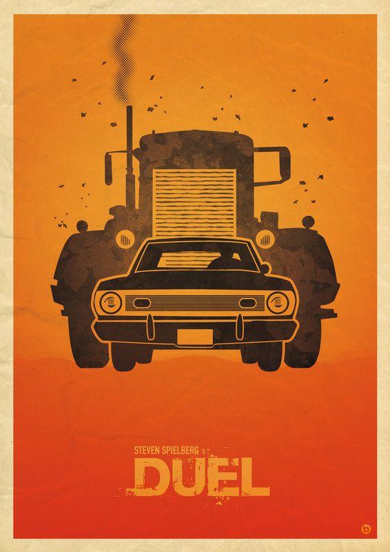 Quand un camion me suit de trop près, je pense à ce film...                                                                                                                                                                                 Plus