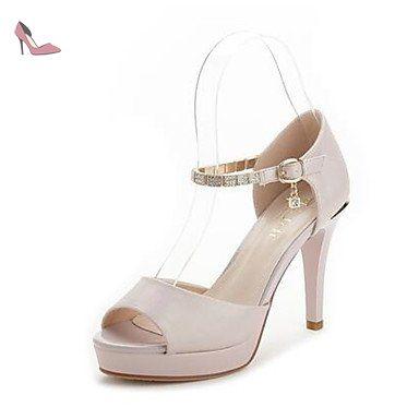 LvYuan Femme Sandales Confort Polyuréthane Printemps Décontracté Confort Beige Rose Plat , beige , us5.5 / eu36 / uk3.5 / cn35 - Chaussures lvyuan (*Partner-Link)