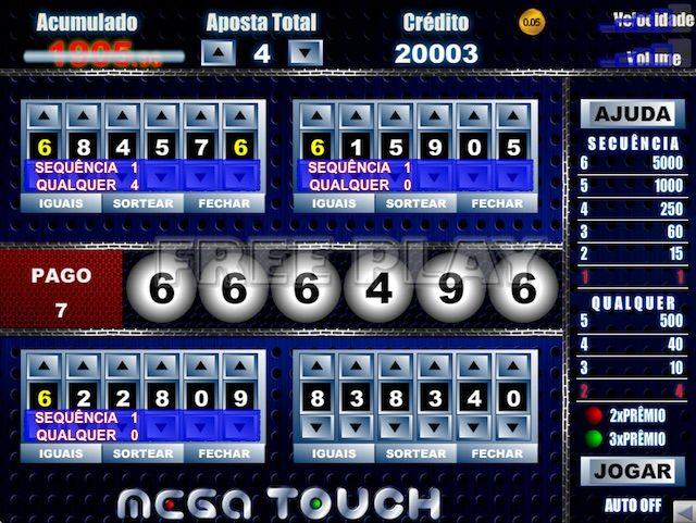 Jogar Video Bingo Mega Touch em Betmotion