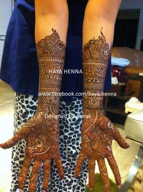 bridal henna Check out more desings at: http://www.mehndiequalshenna.com/