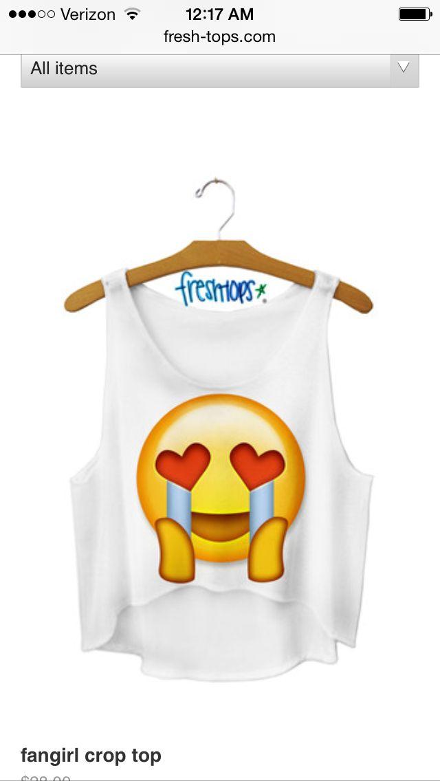 The Fangirl Emoji | Stuff to Buy | Pinterest