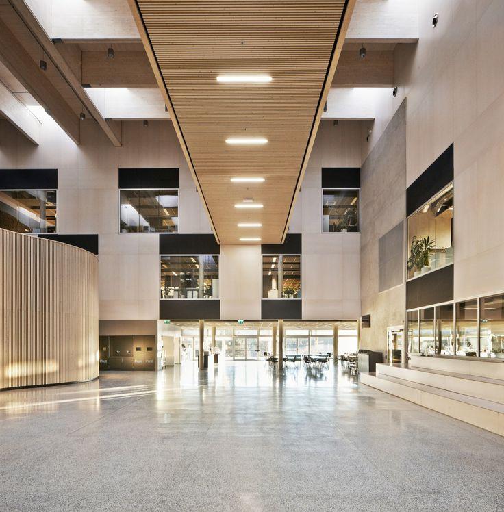 Escuela Secundaria Nord-Østerdal / Longva arkitekter Nord-Østerdal High School / Longva arkitekter – Plataforma Arquitectura