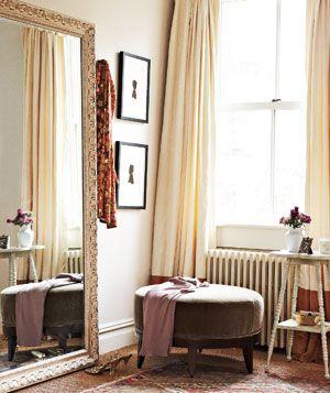 Perfect cornerWall Hooks, Dressing Rooms, Dresses Corner, Master Closets, Dresses Area, Master Bedrooms, Dresses Room, Floors Mirrors, Decor Accessories